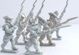 25/CWA05 - Carlist Infantry Advancing