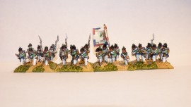 RBP121 - French Infantry Advancing / Firing Egyptian Uniform