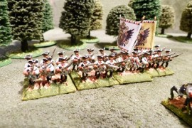 SBP208 - Austrian Infantry Advancing/Charging