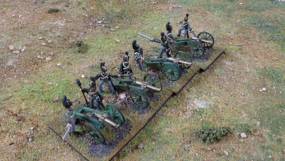 15mm Napoleonic Artillery Packs