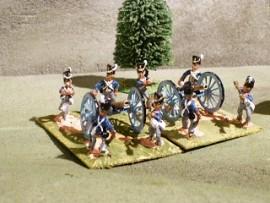 25/BP017 - British Foot Artillery (Belgic Shako)