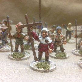 25/510 - Assorted Armed Peasants
