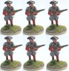 25/MAL05 - Infantry Advancing in Tricorne