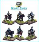 BA/ACW18 - Assorted Mounted Officers