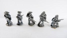 SM/VC04 - Riflemen ( 5 assorted figures)