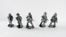 SM/NVA01 - Riflemen ( 5 assorted figures)