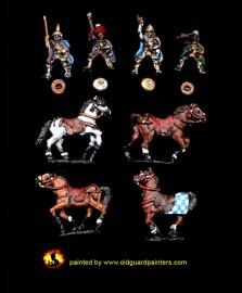 OT 03 Heavy cavalry with unbarded horses