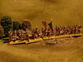 25/BP010 - British Line Infantry Advancing (Shako Cover)
